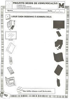 Projeto Meios De Comunicacao Atividades Meios De Comunicacao