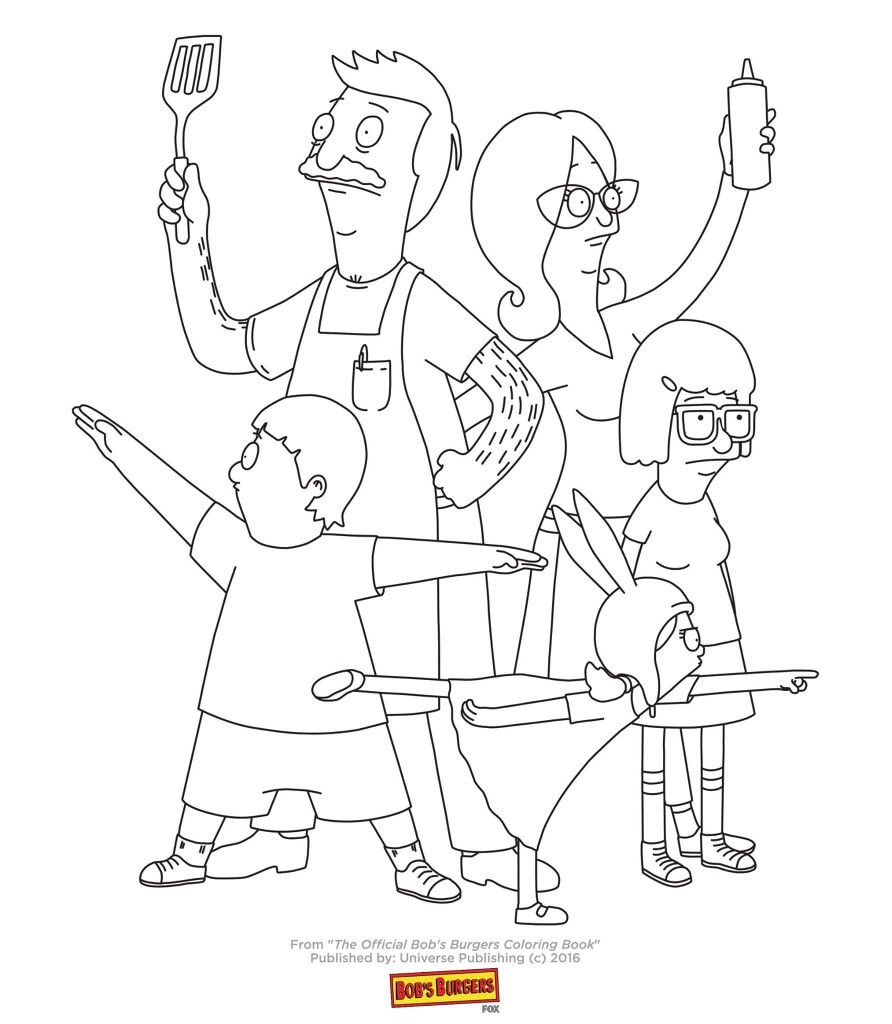 Embroidery Puppy Coloring Pages Coloring Books Bobs Burgers Coloring Pages