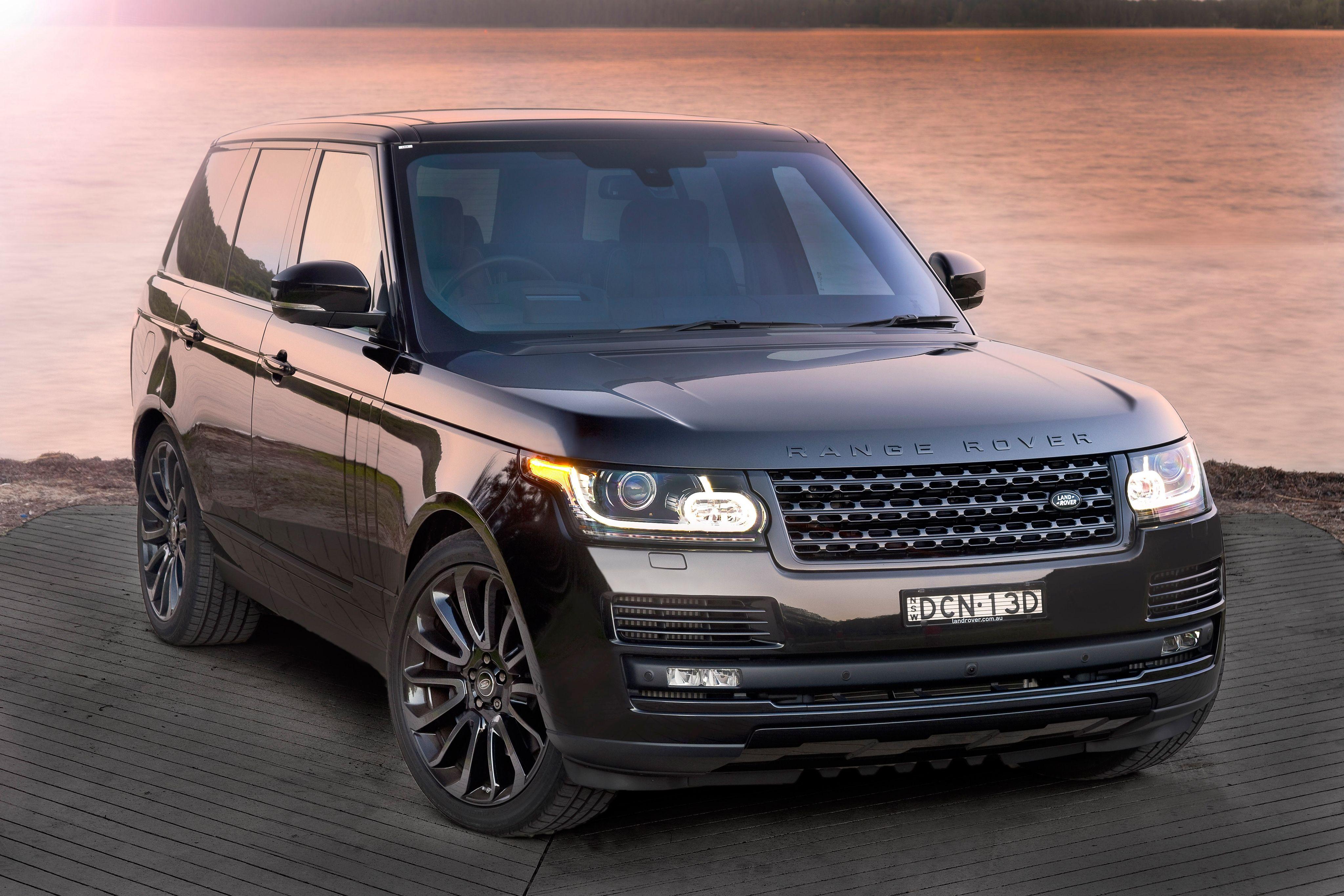 Range Rover Vogue 2018 года рестайлинг премиального