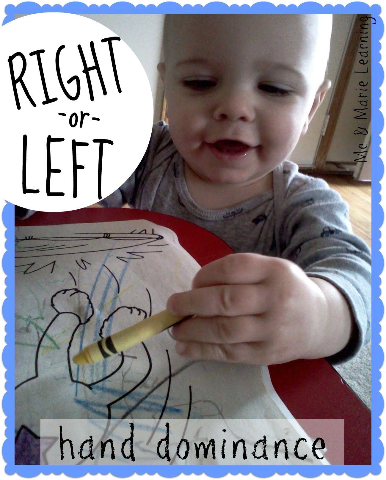 Righty Or Lefty Hand Dominance In Preschool