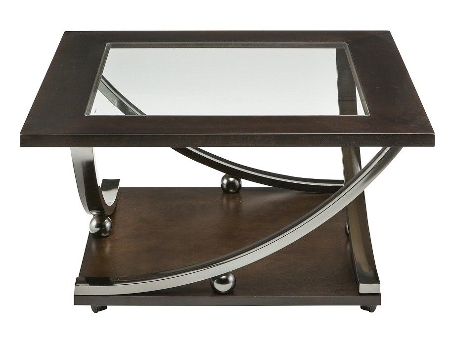 Slumberland Rollins Collection Square Tail Table