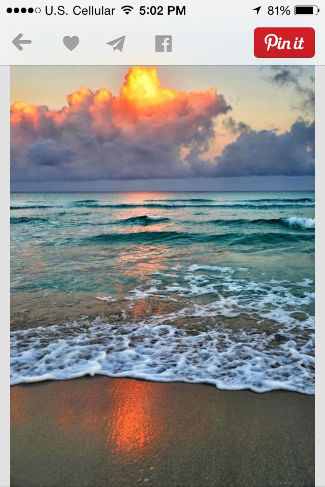 This Is A Puzzling Picture To Me I Know Varadero Faces North The Sun Rises In East Early Morning On Beach Cuba