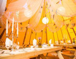 Wedding Reception At The Tremendous Tipi Brighton Music Hall