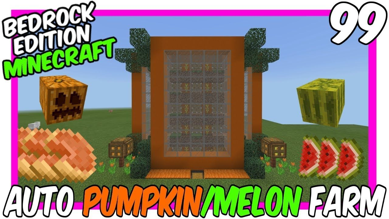How To Make A Xp Farm In Minecraft Bedrock Pin By Nat Williams On Minecraft Doors Etc Minecraft Easy Minecraft Houses Pumpkin Farm