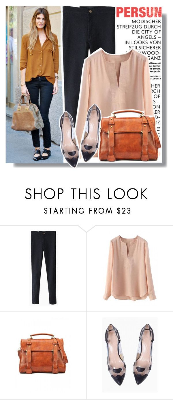 """""""Loose Blouse - Persunmall.com"""" by anne-mclayne ❤ liked on Polyvore"""