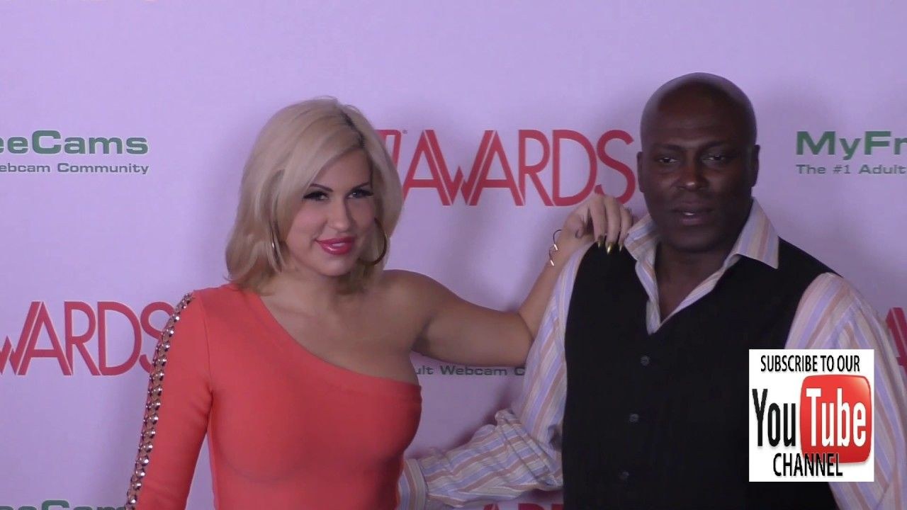 Lexington Steele And Savana Styles At The 2017 Avn Awards Nomination Party At Avalon Nightclub In