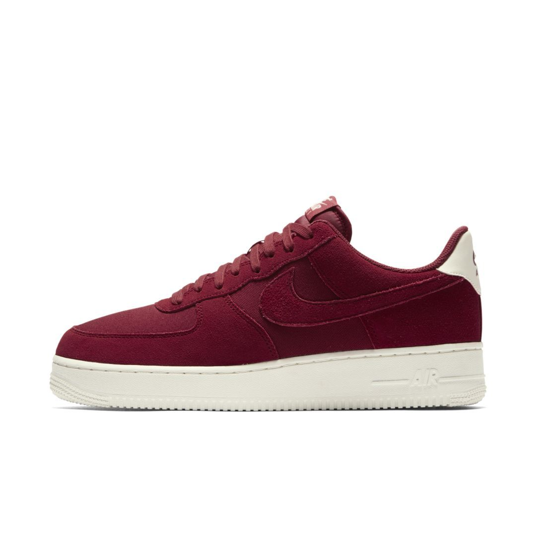new product 45ff3 77391 Nike Air Force 1  07 Suede Men s Shoe Size 11.5 (Red Crush)