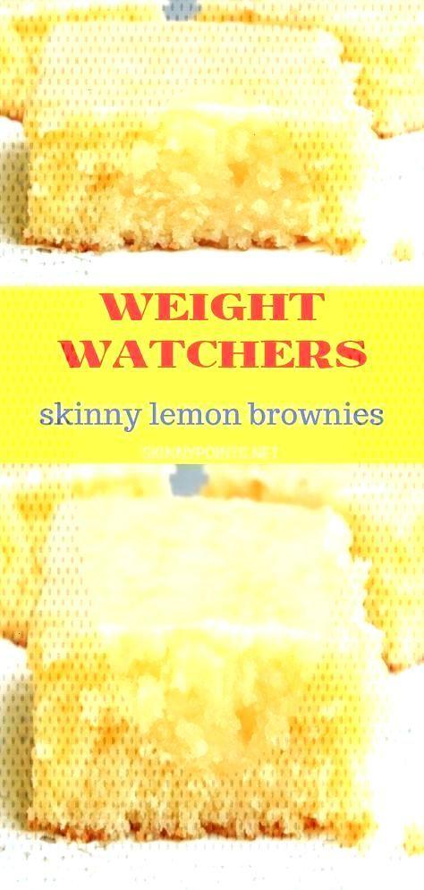 Weight Watcher Skinny Lemon Brownies,healthy desserts | healthy desserts under 100 calories | healt
