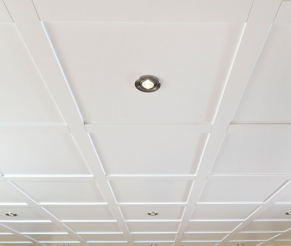 Mdf Ceiling Planks With Mounting Clips Dropped Ceiling Ceiling Ceiling Beams