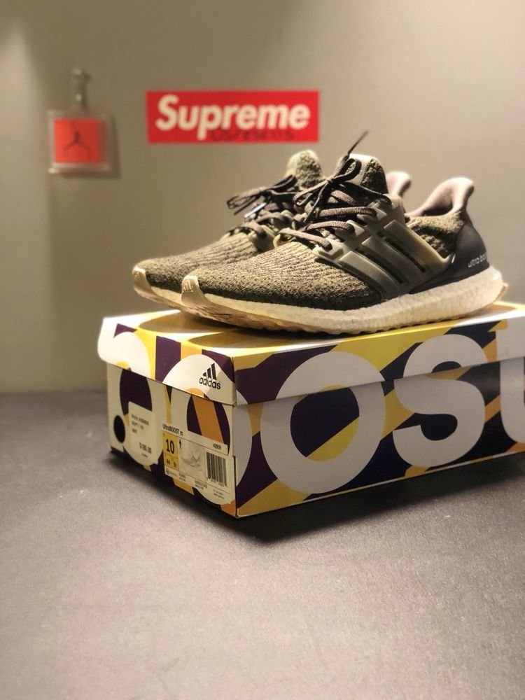 1aabf544631 adidas Ultra Boost 3.0 Night Cargo Olive Green S80637 Mens size 10  Pre-owned  fashion  clothing  shoes  accessories  mensshoes  athleticshoes  (ebay link)