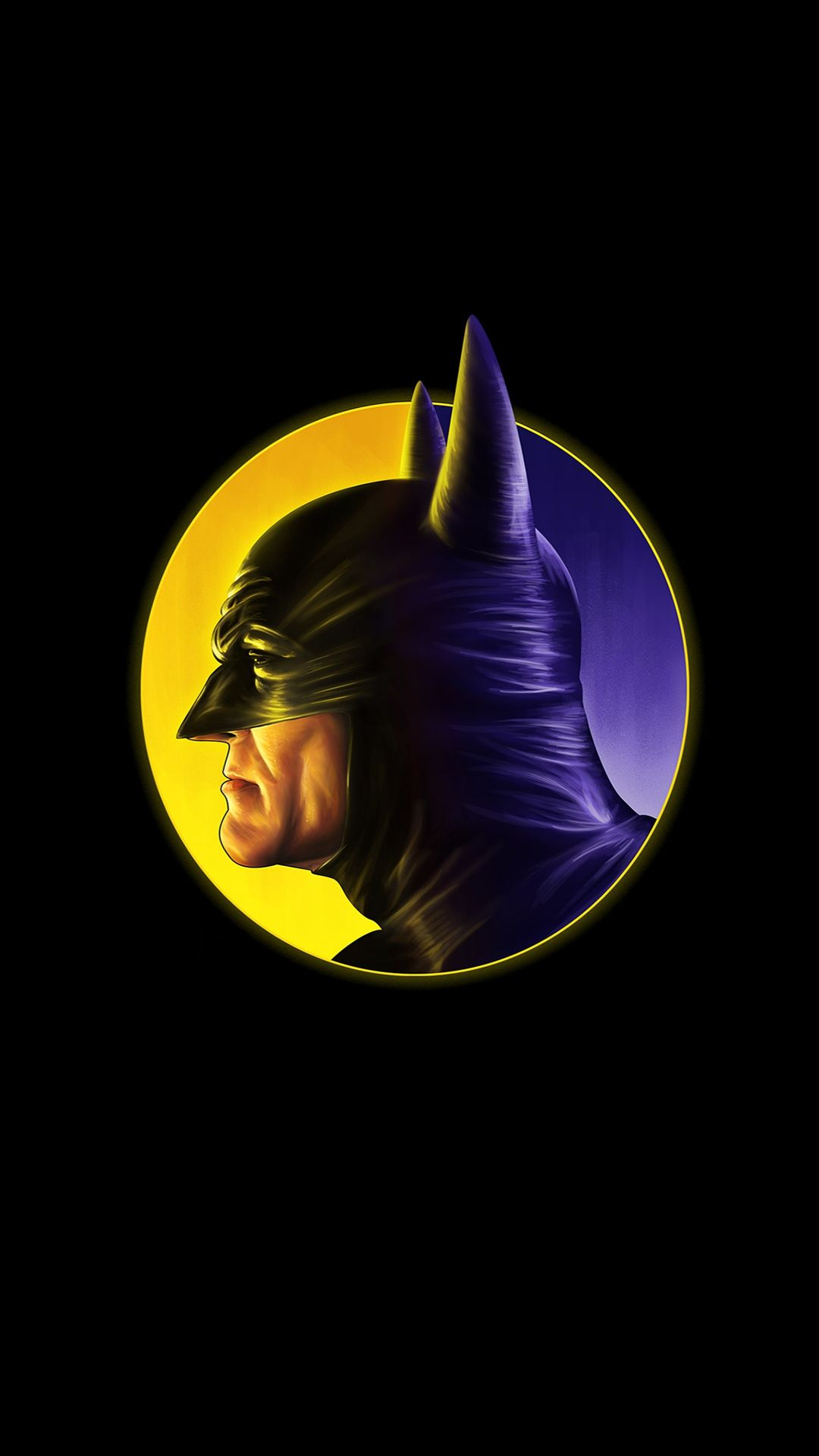 The Batman Dark Minimal Iphone Wallpaper Minimal Wallpaper
