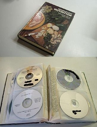 DIY DVD Storage seems kind of involved but maybe Iu0027ll find the time. & DIY: CD/DVD Storage Book | Pinterest | Diy dvd storage Dvd storage ...