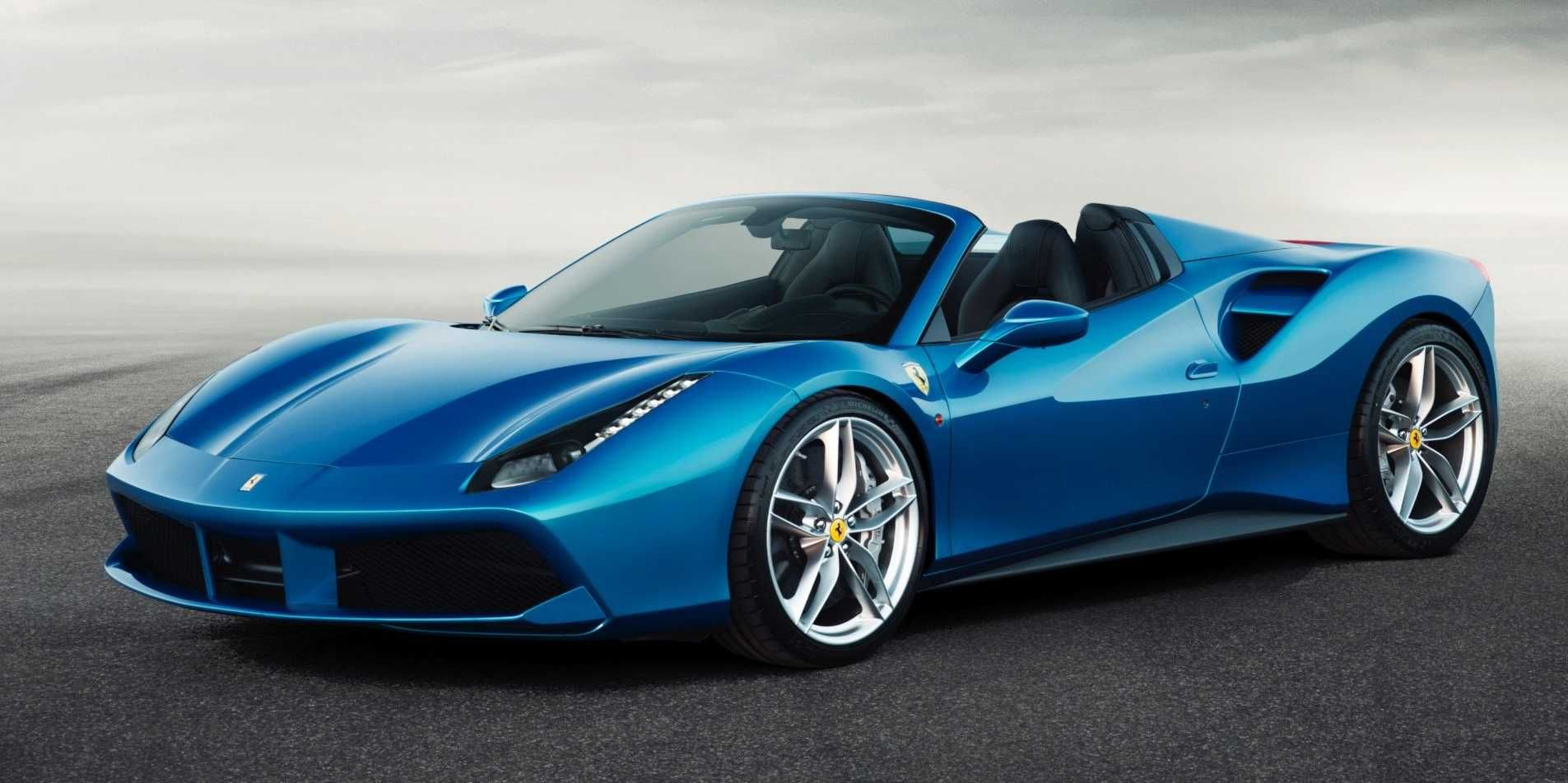 Ferrari just dropped the top on its newest supercar. via Business Insider