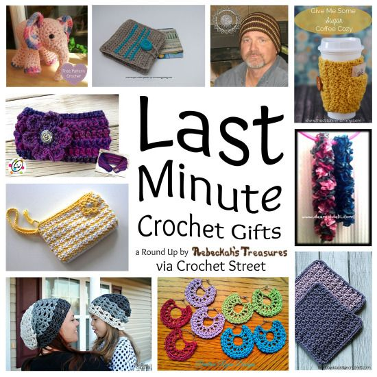 10 Quick Last Minute Gift Crochet Patterns Stop Searching And