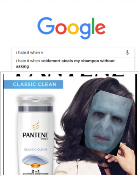 so thats where my shampoo went! | Harry potter in 2019