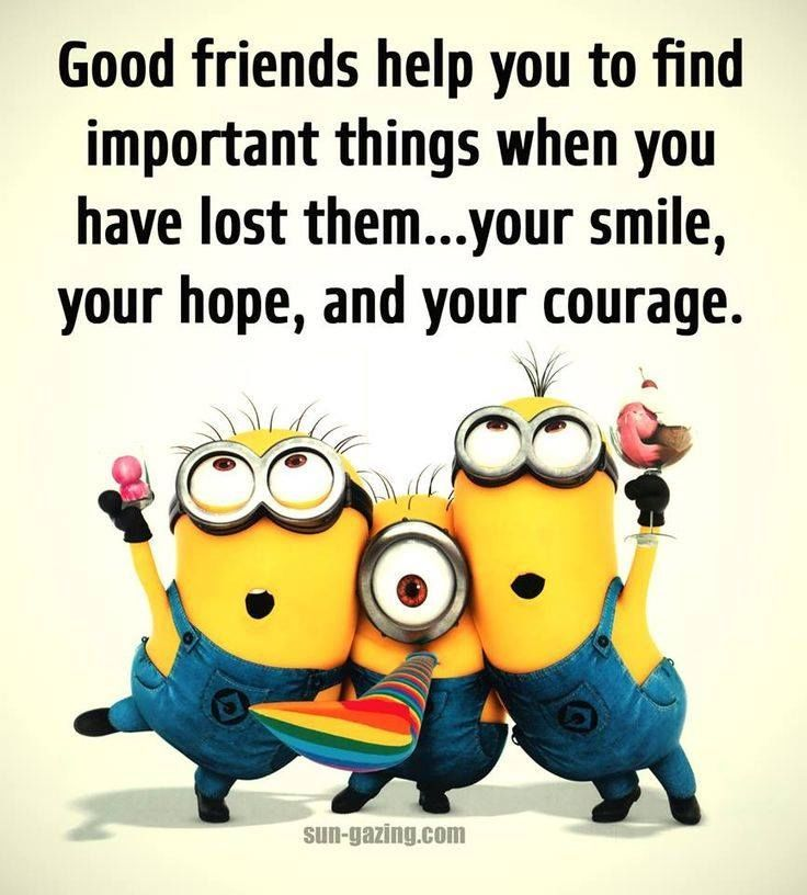 Good Friends Help You To Find Important Things When You Have Lost Them