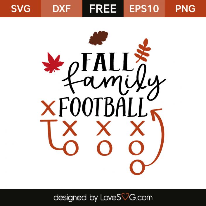 Fall Family Football Cricut, Svg files for cricut, Fall