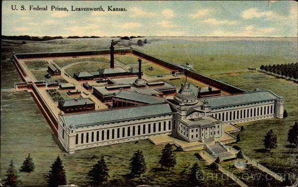 U  S  Federal Prison | Kansas | Leavenworth prison, Federal