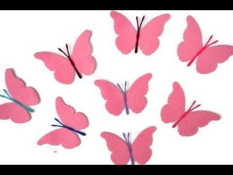 Hacer mariposas de nylon y flores