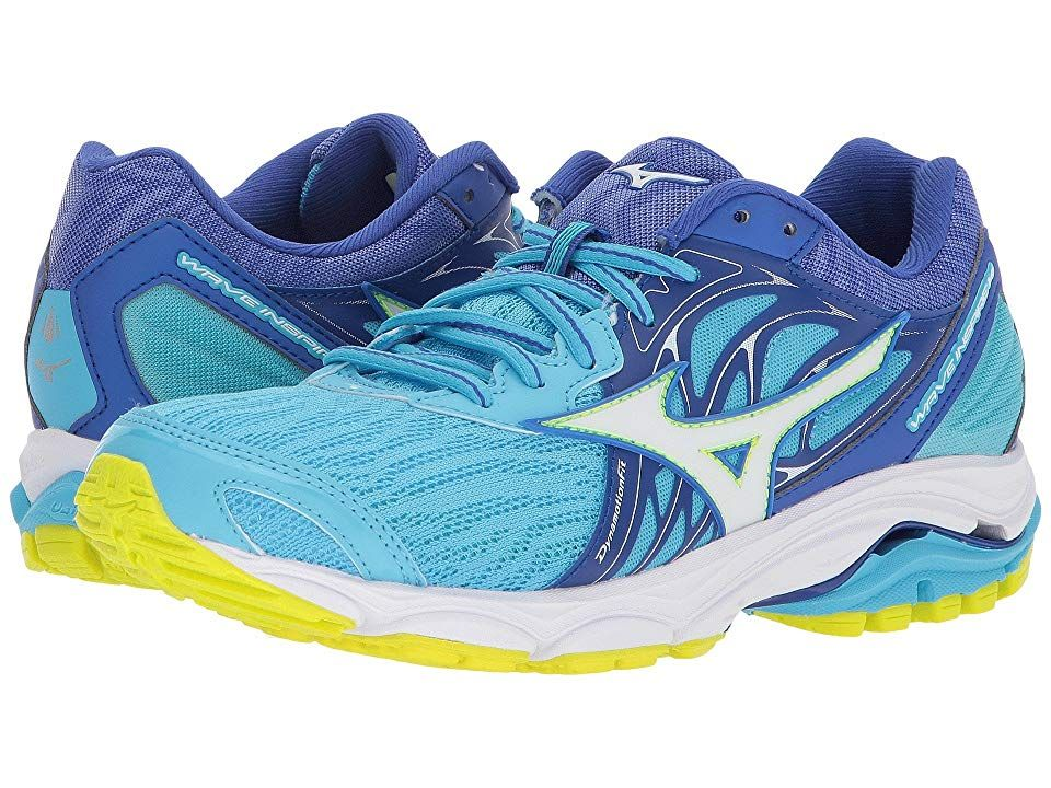 Mizuno Wave Inspire 14 Cobalt White Women S Running Shoes Enjoy A Smoother Ride With The Durable And Flexible Womens Running Shoes Running Accessories Shoes