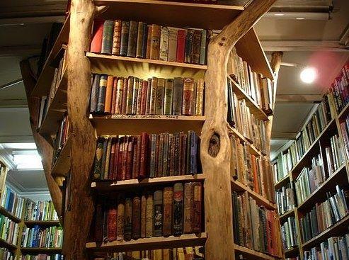 Tree Bookshelf Richmond England Photo Via Tamye Baum Bucherregal Bibliothek Und Bucher