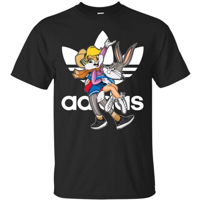 e45ed814c3b Adidas Bugs And Lola Bunny Classic T-Shirt - Shop Adidas x Disney ...
