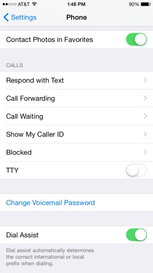 Caller ID, Call Forwarding, and Waiting on the iPhone in 2019