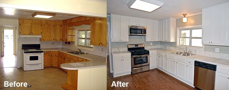 How To Refinish Kitchen Cabinets Without Stripping Want to update your kitchen cabinets, but don't want to spend ages