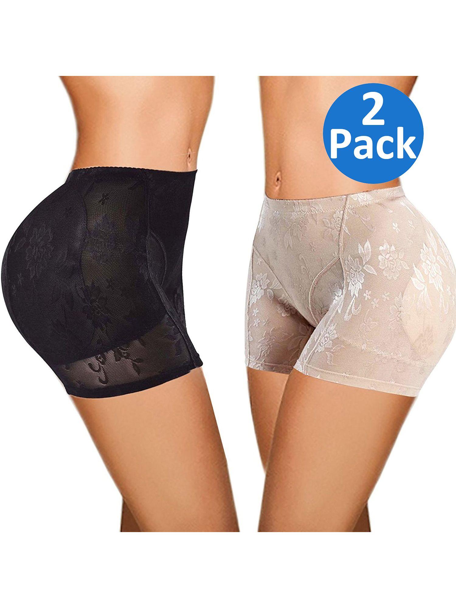 c68f1394b SAYFUT Butt Lifter Padded Panty Enhancing Body Shaper for Women Shapewear Boyshorts  Control Panties Black Nude Plus Size Enhancing