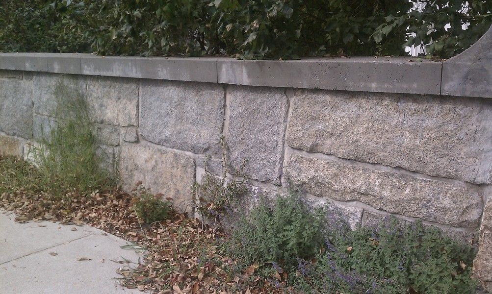 Reclaimed granite blocks - Retaining Wall Stones - Stone ... on Life Outdoor Living Block id=80937