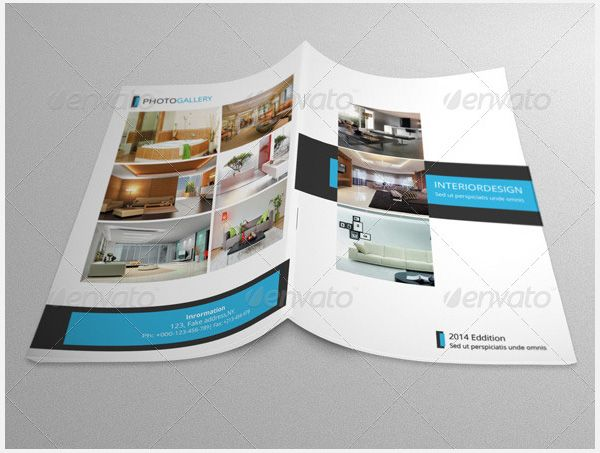 Best Interior Design Brochure Templates Psd  Free  Premium
