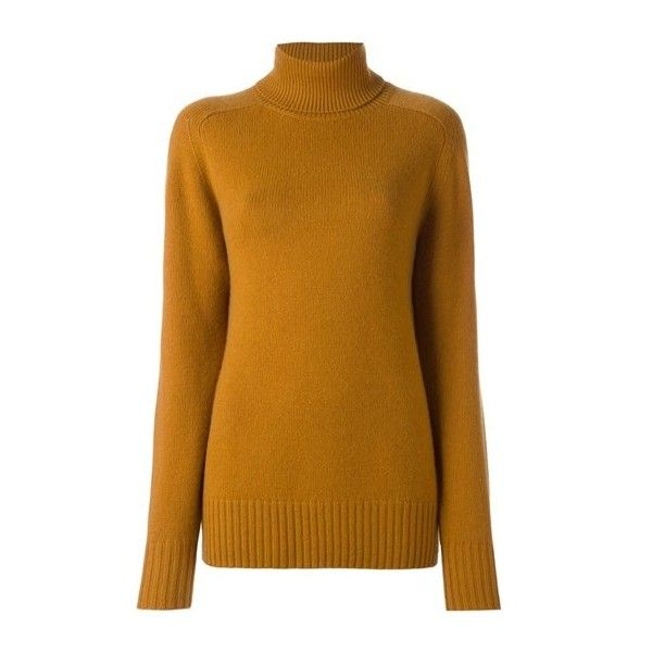 CHLOE' Ribbed Turtleneck Jumper ($1,082) ❤ liked on Polyvore ...
