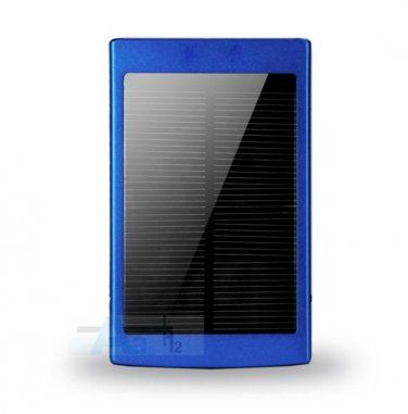 Solar Powered 80000 mAh Dual USB Power Bank Battery Charger For Phone Travel Use