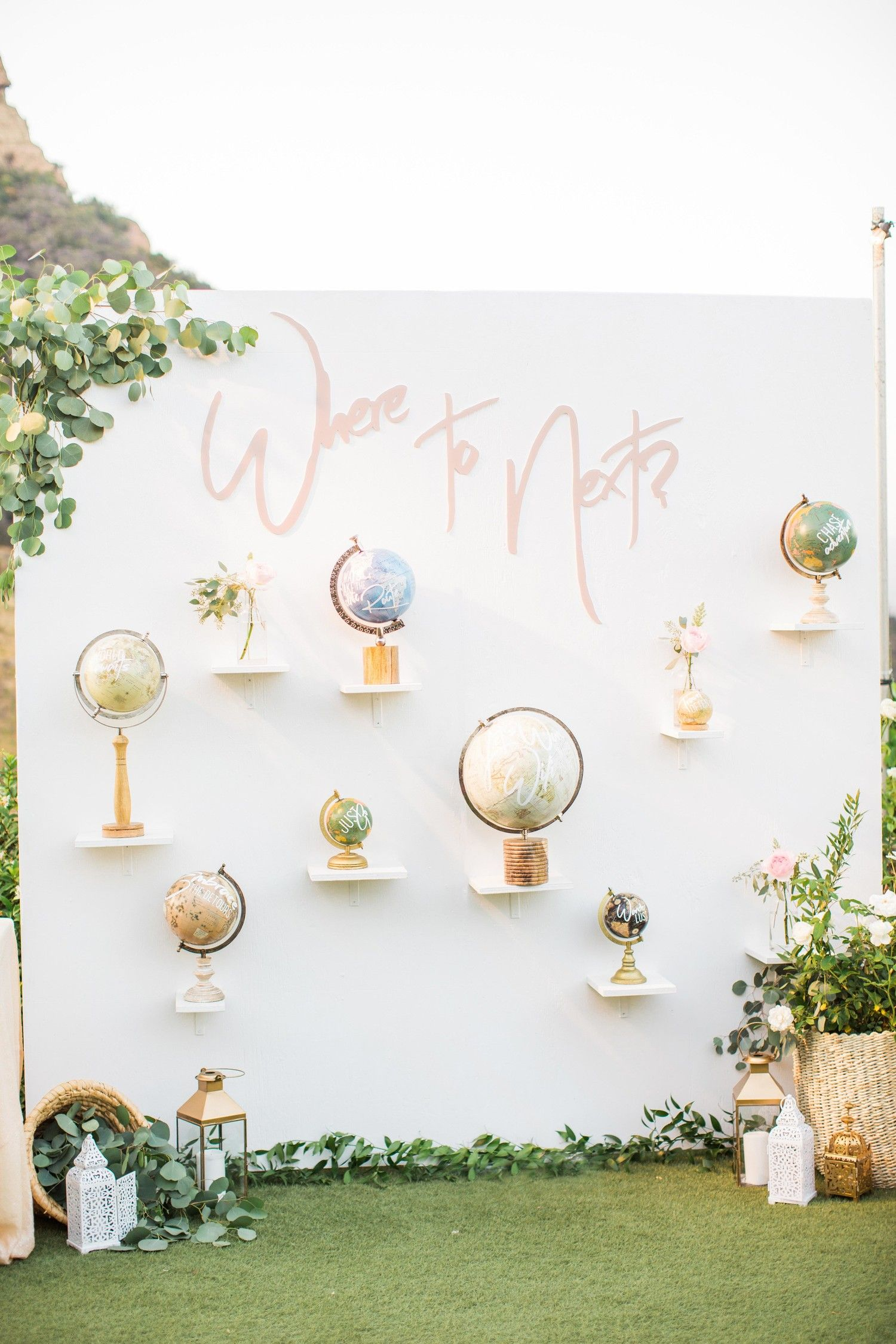 Wedding decorations list   Cocktail Hour Ideas from Real Weddings  Around the world