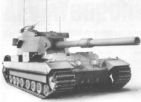Fv 215 British Prototype Of Heavy Tank Tanks Military War