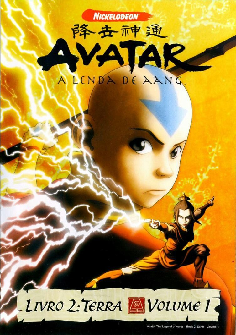 Avatar The Last Airbender Book Earth 1 Poster Project Avatar