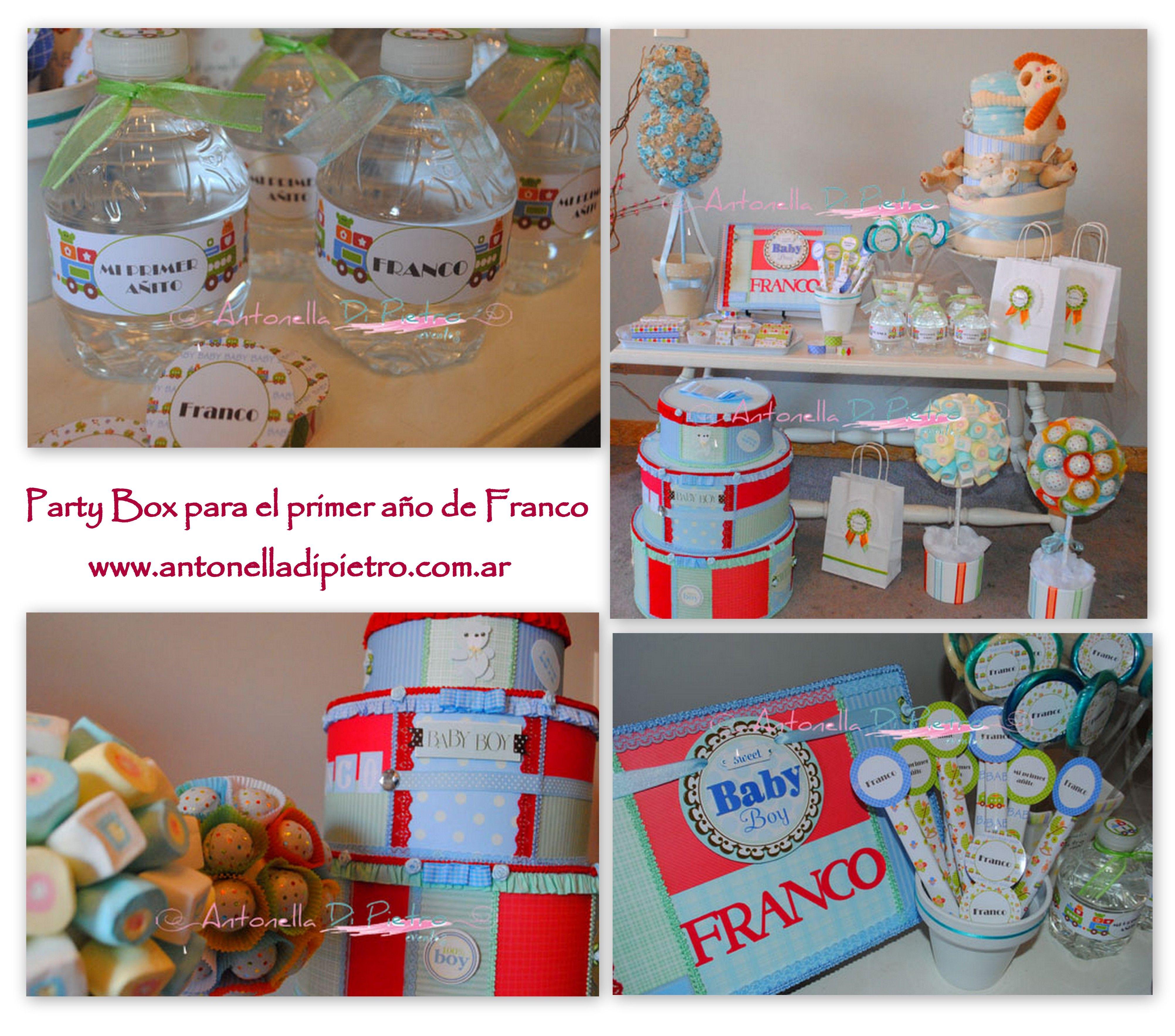 Detalles para celebrar un baby shower es un ni o it s a boy fiesta primer a ito baby party - Detalles para baby shower ...