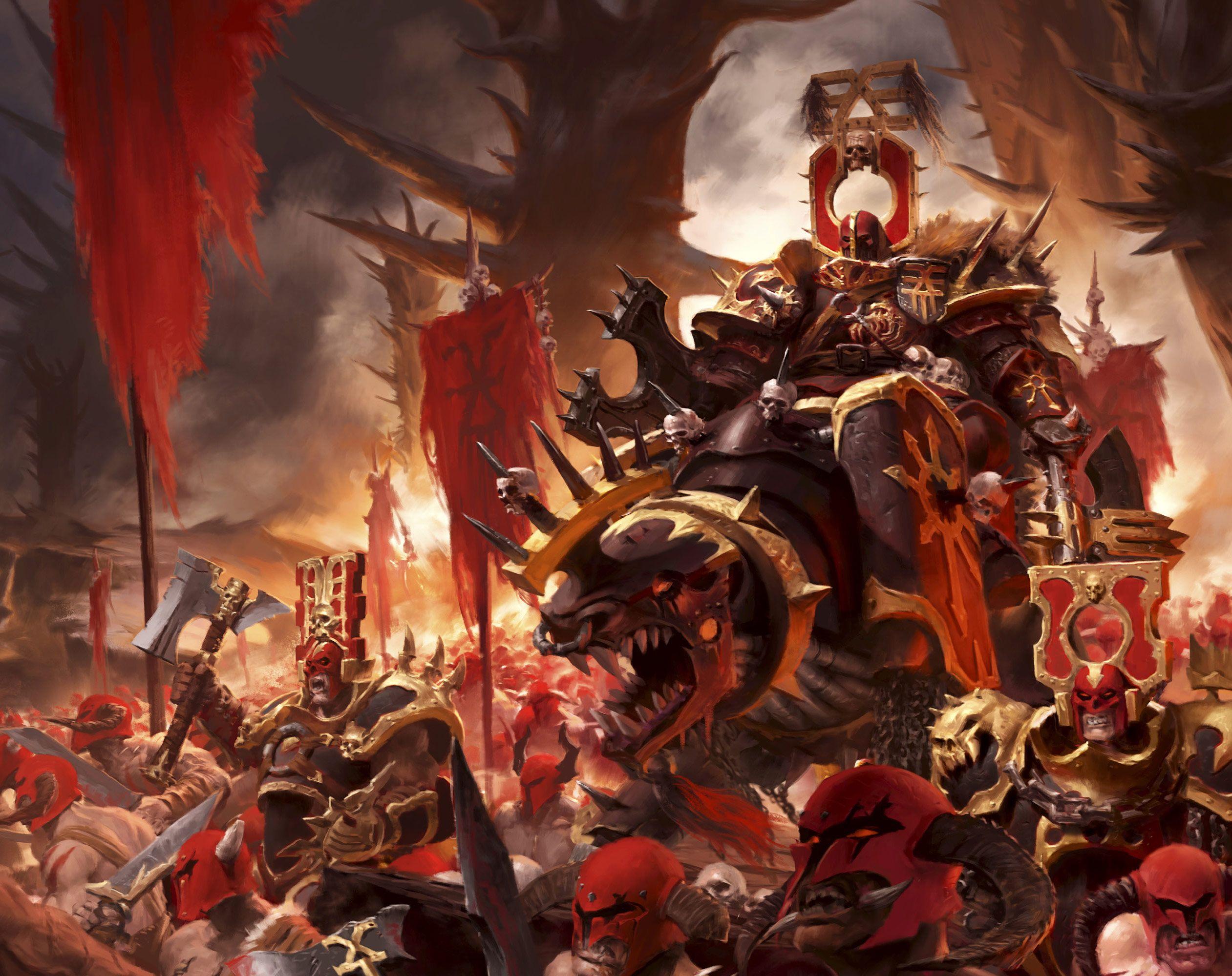 Warhammer 40k Chaos Art | www.pixshark.com - Images ...