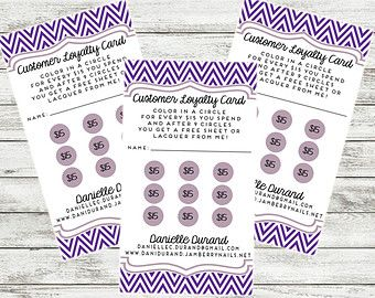 Https Img0 Etsystatic Com 054 1 7327949 Il 340x270 695077394 T2y3 Jpg Loyalty Card Template Customer Loyalty Cards Vip Card Design