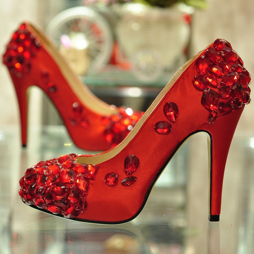 Pinkog The Red Wedding Shoes To Burn Ideas With Bows 850x850