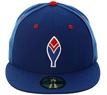 f5f7966c421 New Era 5950 Atlanta Braves Feather Fitted Hat - Royal