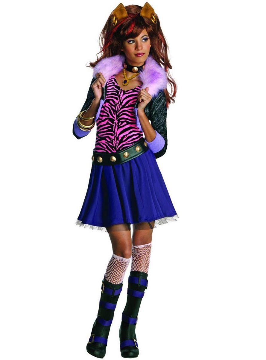 Costume clawdeen monster high con immagini costume da