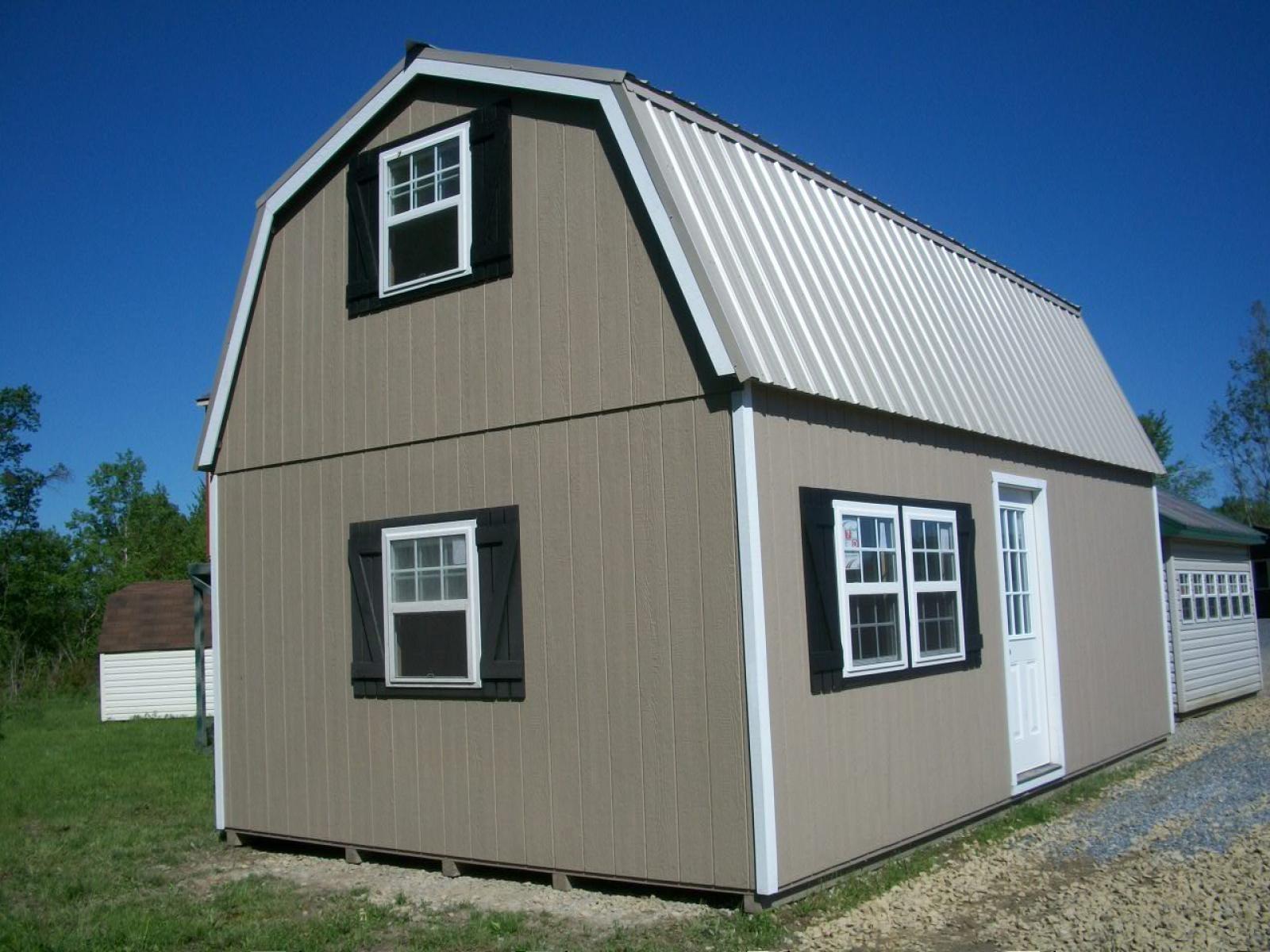 Home Depot Outdoor Storage Barn Summer Wind 16 x 16 SKU 624 043