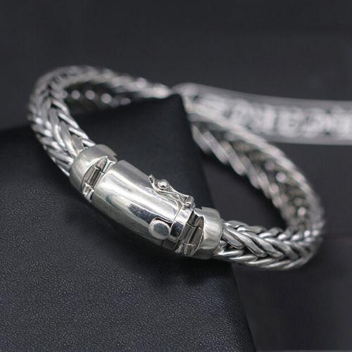 Sterling Silver Wheat Chain Bracelet For Men Men S