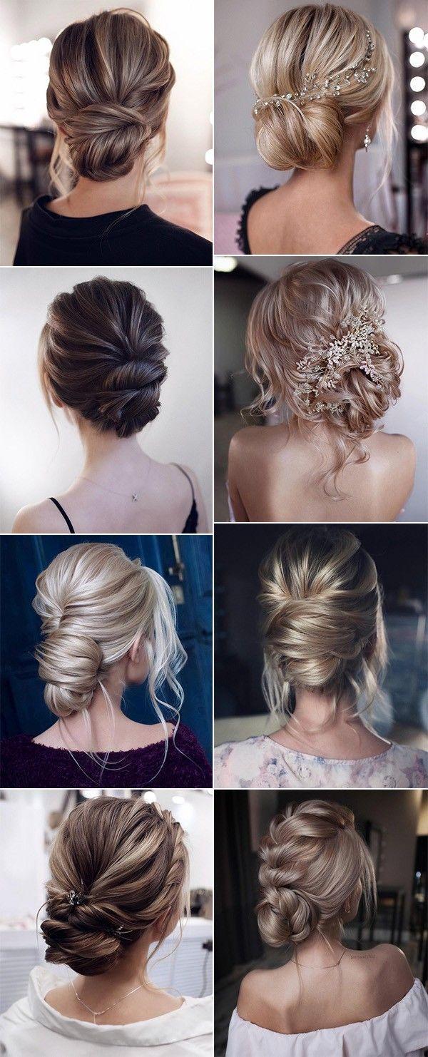 Trend elegante Braut Hochsteckfrisuren Hochzeitsfrisuren – Jeena F.