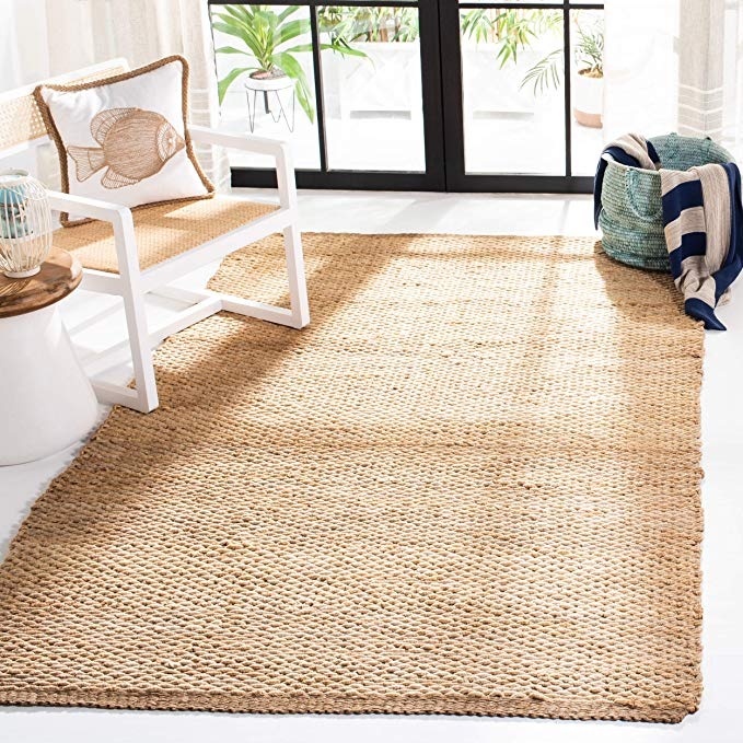 Amazon Com Safavieh Natural Fiber Collection Nf459a Hand Woven Natural Jute Area Rug 6 X 9 Home In 2020 Natural Area Rugs Jute Area Rugs Natural Fiber Area Rug