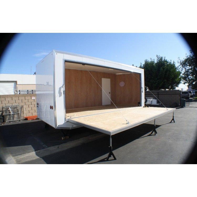 Portable Stage Trailer Google Search Mobile Village
