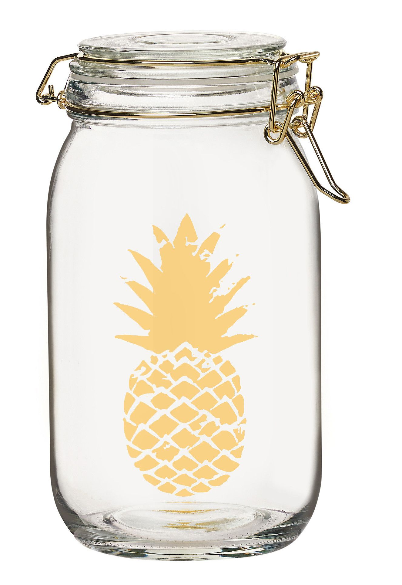 Luxe 36-Ounce Glass Canister