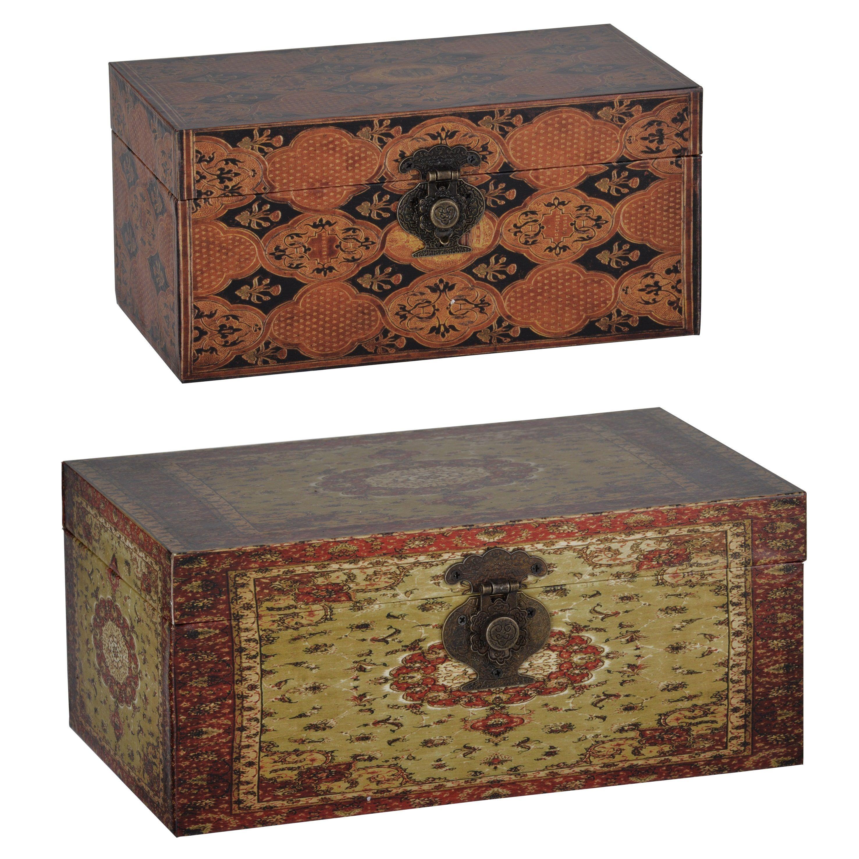 Decorative Stackable Boxes S2 Decorative Storage Boxes Stackable Storage Boxes Multi