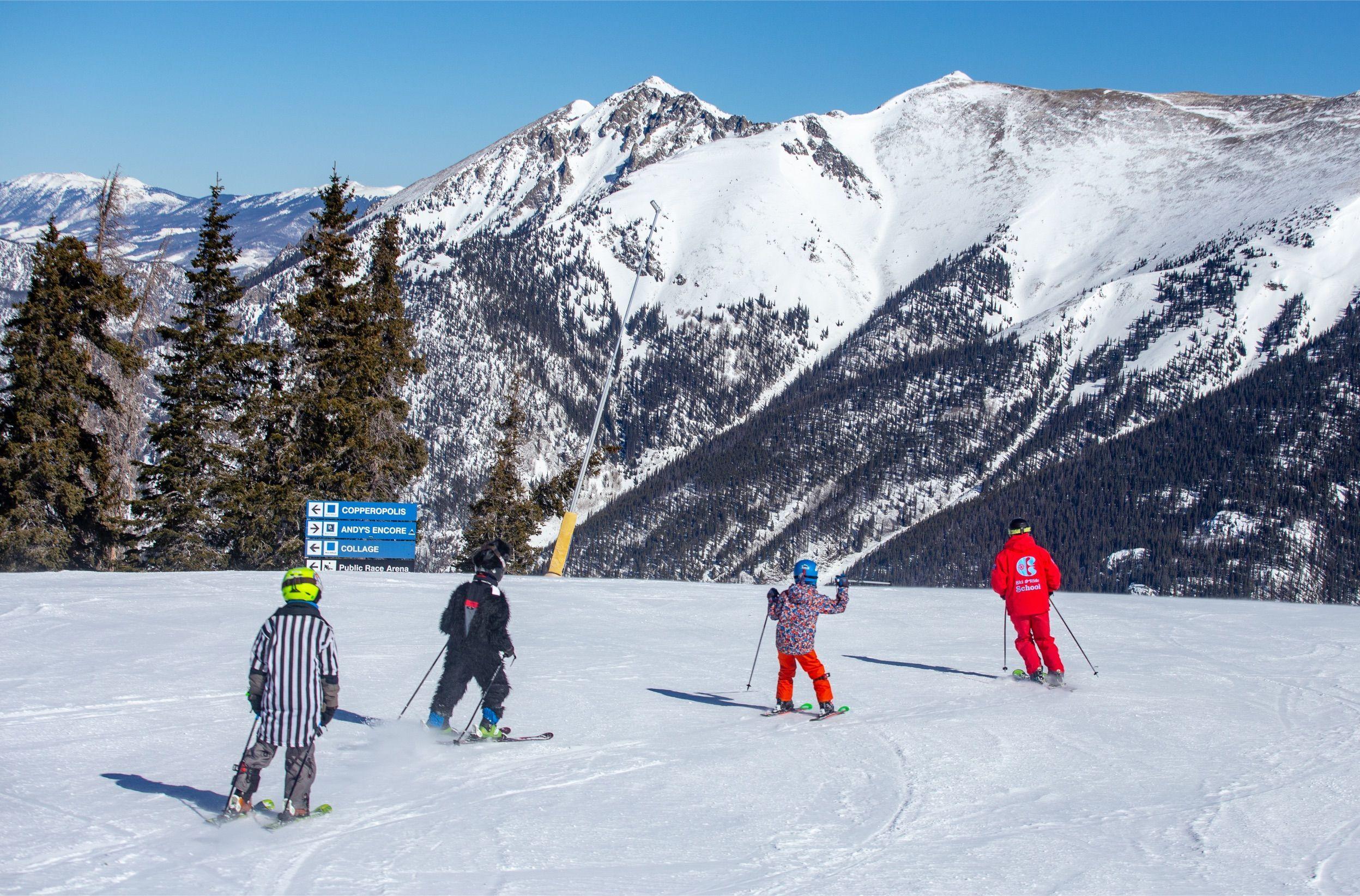 Copper Mountain Snow Trip Ski Season Ski Racing